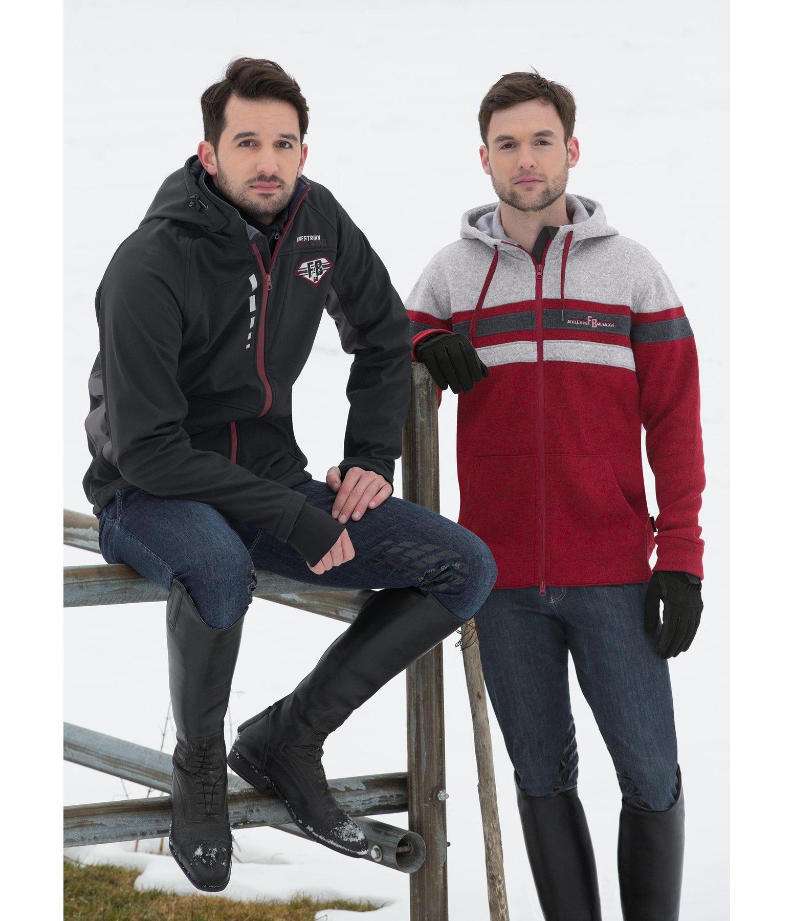 Veste polaire tricot à capuche homme Milan - Hauts hommes - Felix Bühler 8e47d6bc132d
