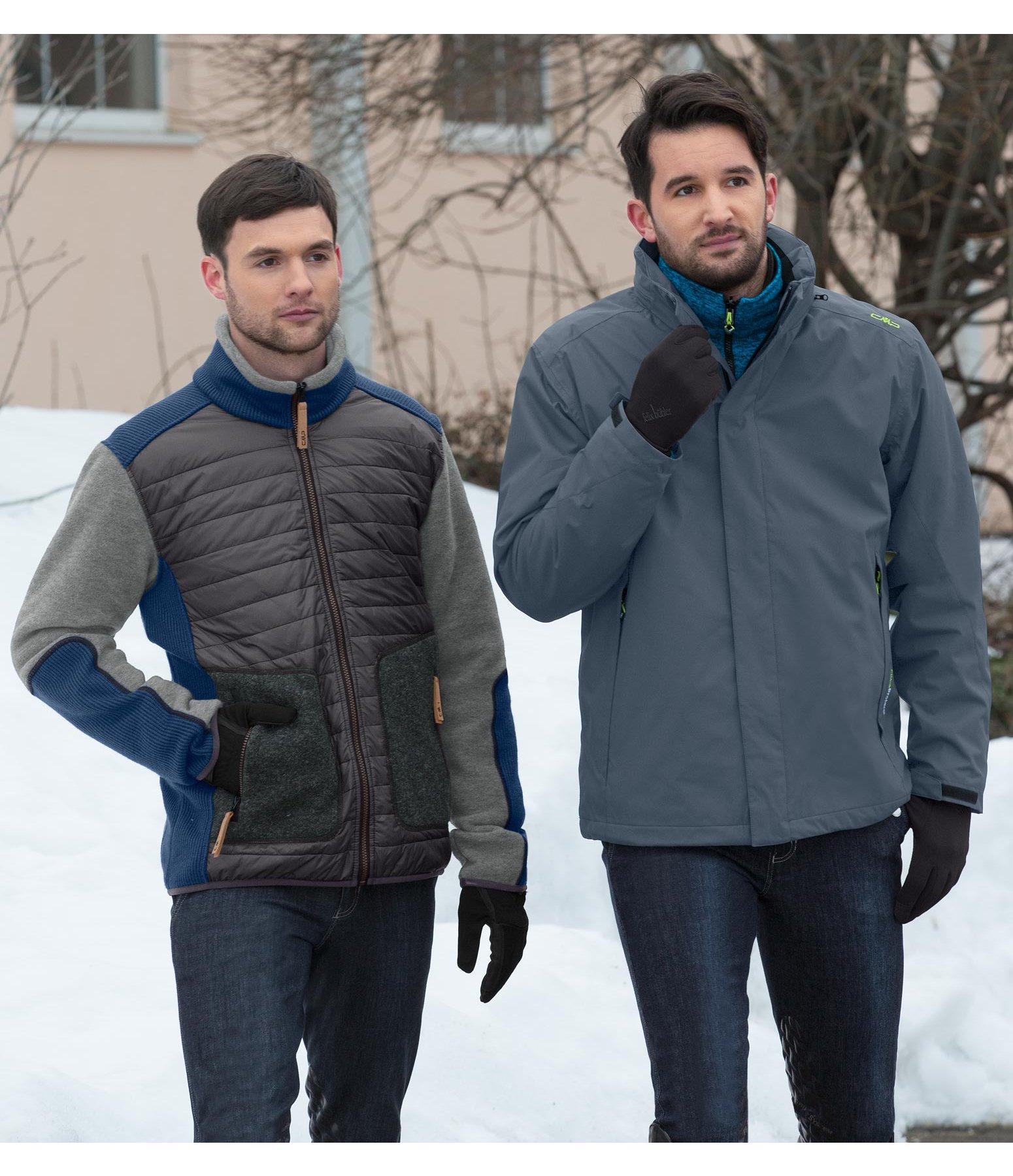 Veste polaire mérinos bi-matière homme Nicolo - Hauts hommes - Felix ... a947214c905d