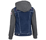 STEEDS Veste sweat en jean enfant  Katniss - 680575-116-DD - 3