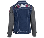 STEEDS Veste sweat en jean enfant  Katniss - 680575-116-DD - 4