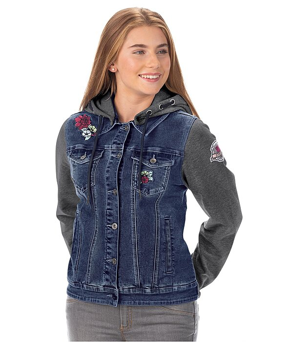 STEEDS Veste sweat en jean enfant  Katniss - 680575-116-DD
