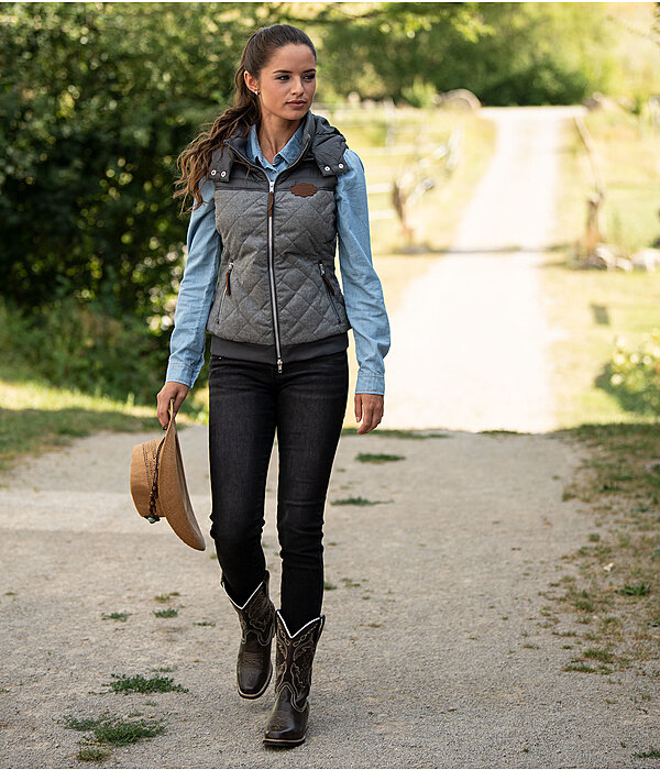 Tenue western Amanda en denim clair - OF000297